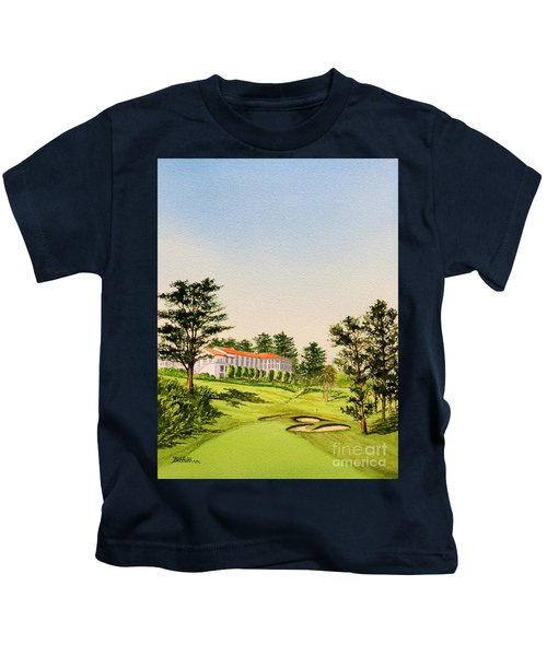 The Olympic Golf Club - 18th Hole Kids T-Shirt