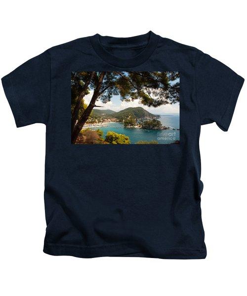 The Town Of Parga - 2 Kids T-Shirt