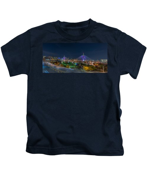 The Zakim Bridge Kids T-Shirt