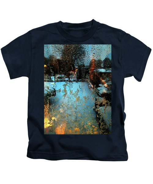 Kids T-Shirt featuring the photograph Through The Window by Colette V Hera  Guggenheim