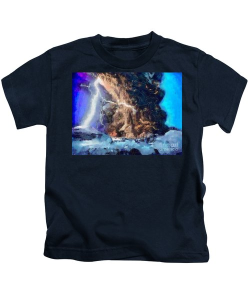 Thunder Struck Kids T-Shirt