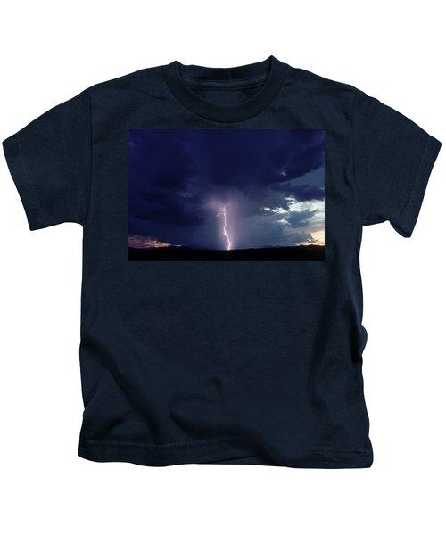 Thunderstorm Over Sedona, Arizona Kids T-Shirt