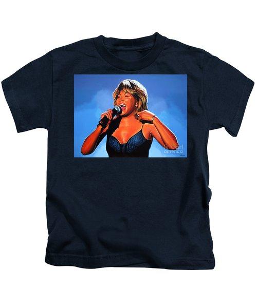 Tina Turner Queen Of Rock Kids T-Shirt
