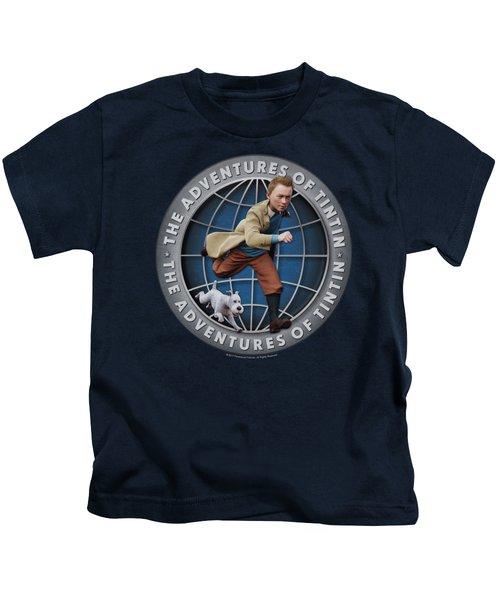 Tintin - Globe Kids T-Shirt