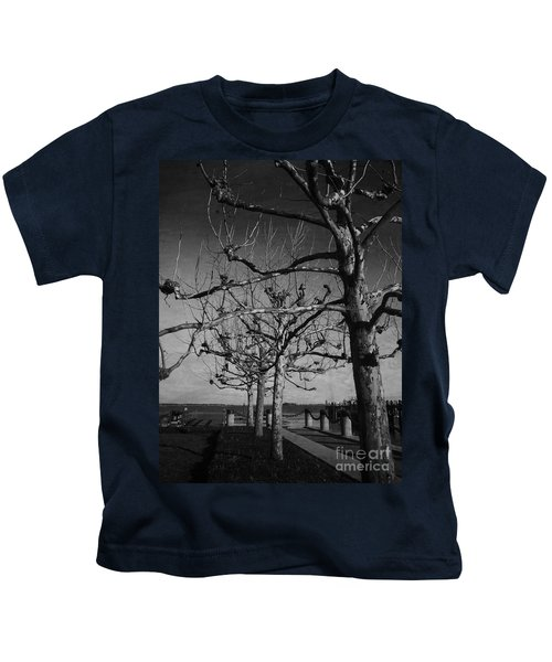 Tree In A Row  Kids T-Shirt