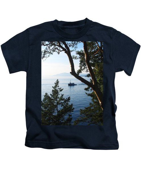 Tugboat Passes Kids T-Shirt