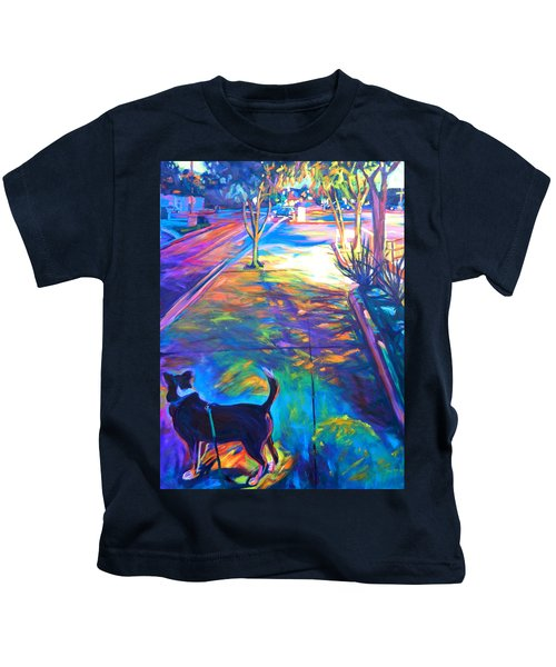 Scout At Twilight Kids T-Shirt