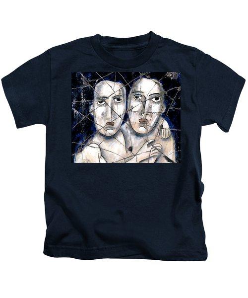 Two Souls - Study No. 1 Kids T-Shirt