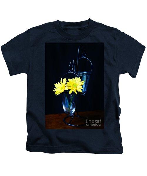 Two Yellow Daisies Kids T-Shirt
