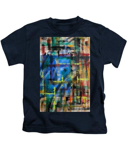 Blue Wall Kids T-Shirt
