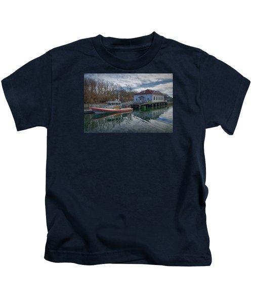 Usgs Castle Hill Station Kids T-Shirt