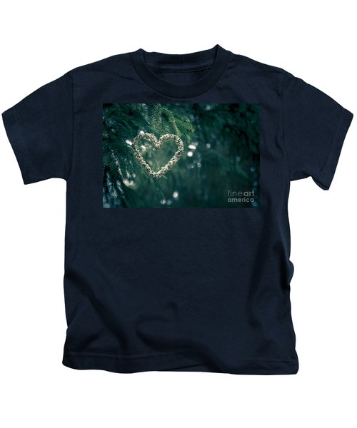 Valentine's Day In Nature Kids T-Shirt