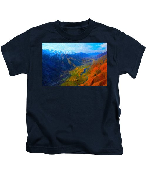Valley Shadows Kids T-Shirt