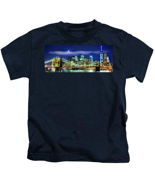 Watching Over New York Kids T-Shirt
