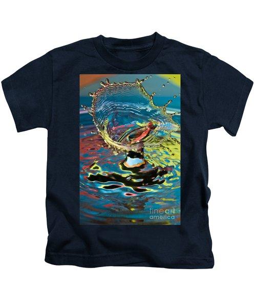 Water Splash Exploding Kids T-Shirt