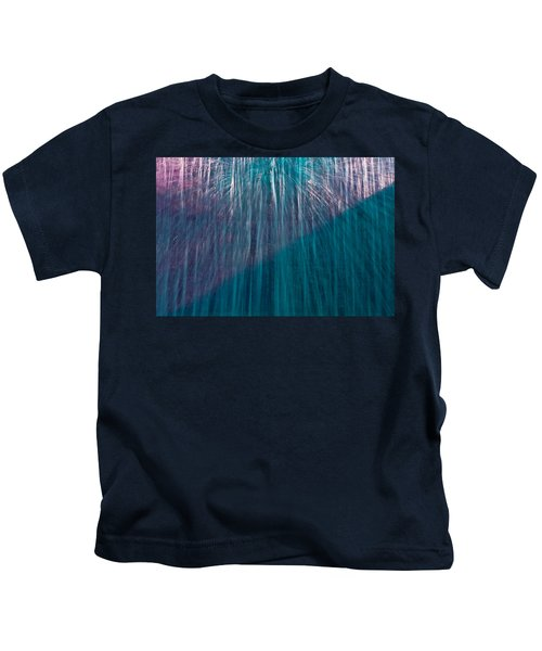 Waterfall Abstract Kids T-Shirt