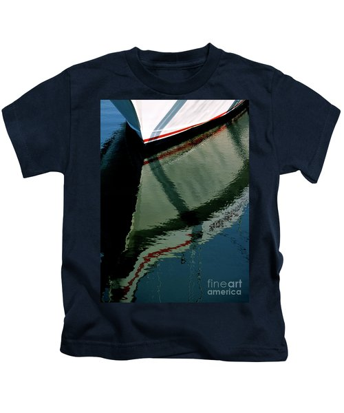 White Hull On The Water Kids T-Shirt