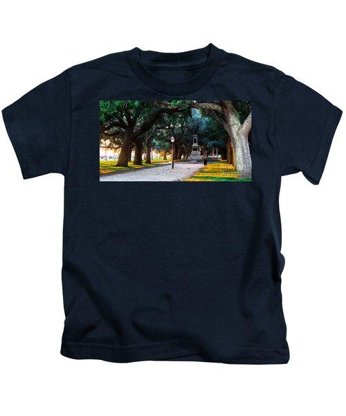 White Point Garden Walkway Charleston Sc Kids T-Shirt