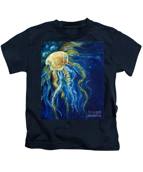 Wild Jellyfish Reflection Kids T-Shirt