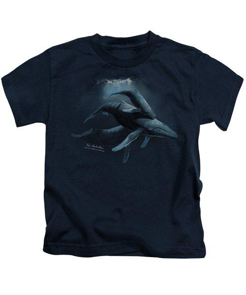 Wildlife - Powerandgrace Kids T-Shirt