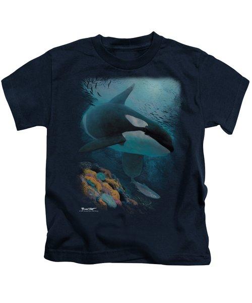 Wildlife - Salmon Hunter Orca Kids T-Shirt