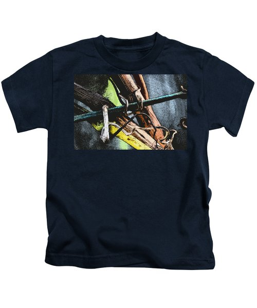Wine Branches Kids T-Shirt