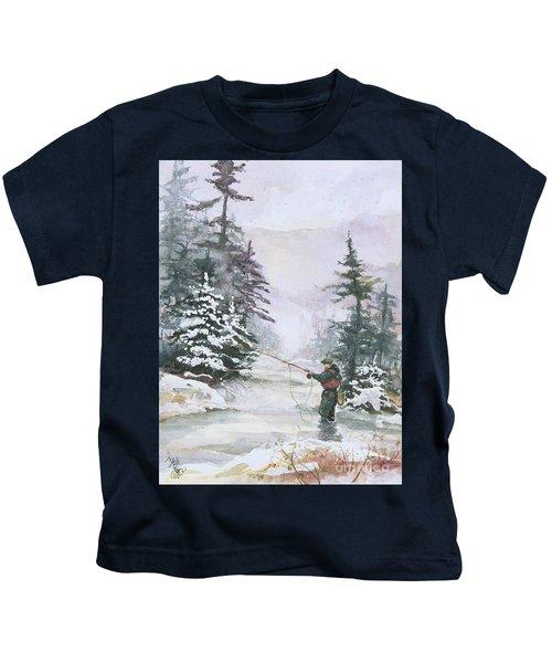Winter Magic Kids T-Shirt