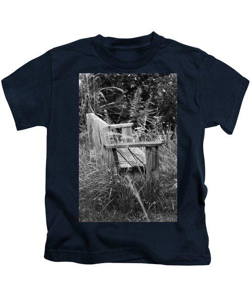 Wood Bench Kids T-Shirt