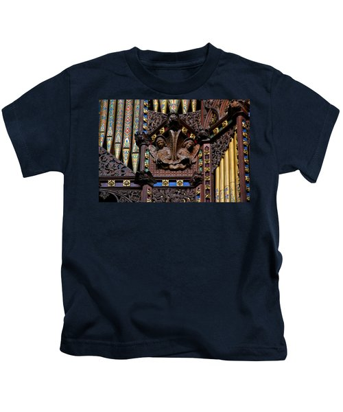 Wooden Angels Ely Cathedral Kids T-Shirt