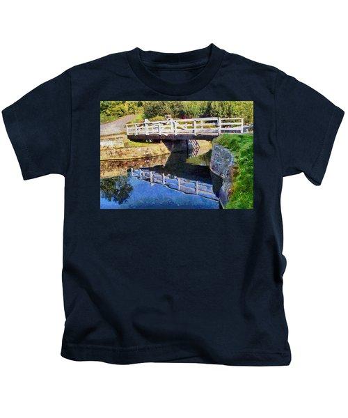Wooden Bridge Kids T-Shirt