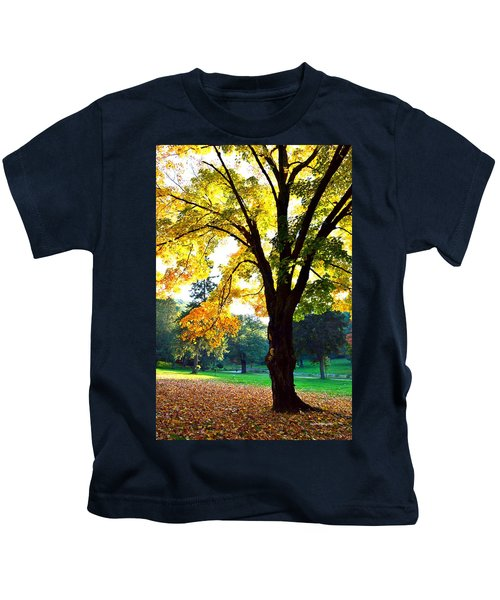 Yellow Highlights Kids T-Shirt