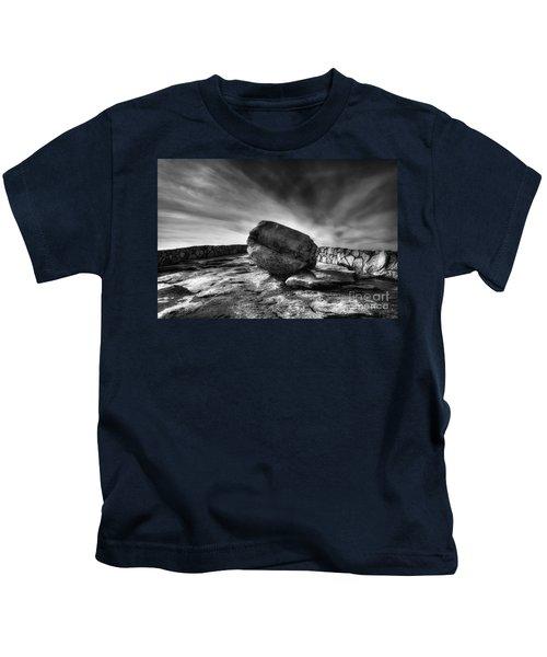 Zen Black White Kids T-Shirt