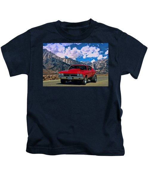 1968 Chevelle Super Sport Kids T-Shirt