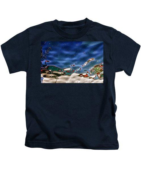Boat Reflexion Kids T-Shirt
