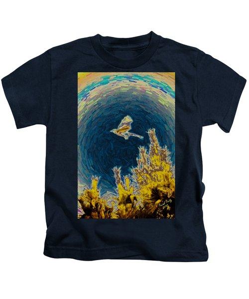 Bluejay Gone Wild Kids T-Shirt