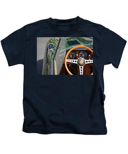 Classic Green Jaguar Artwork Kids T-Shirt