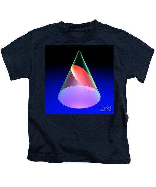 Conic Section Ellipse 6 Kids T-Shirt