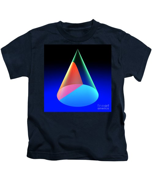 Conic Section Hyperbola 6 Kids T-Shirt