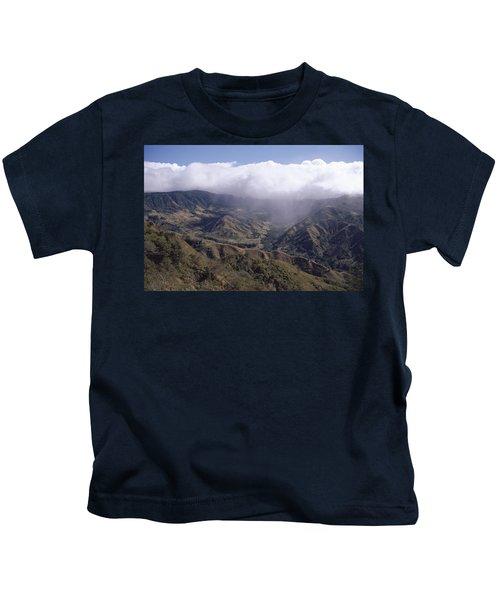 Deforested Hills, Monteverde Cloud Kids T-Shirt