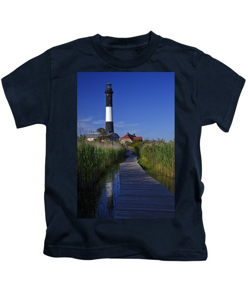 Fire Island Reflection Kids T-Shirt