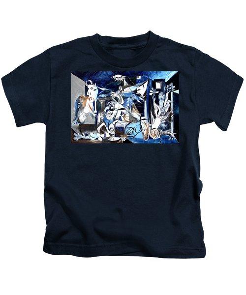 Fish Guernica Kids T-Shirt