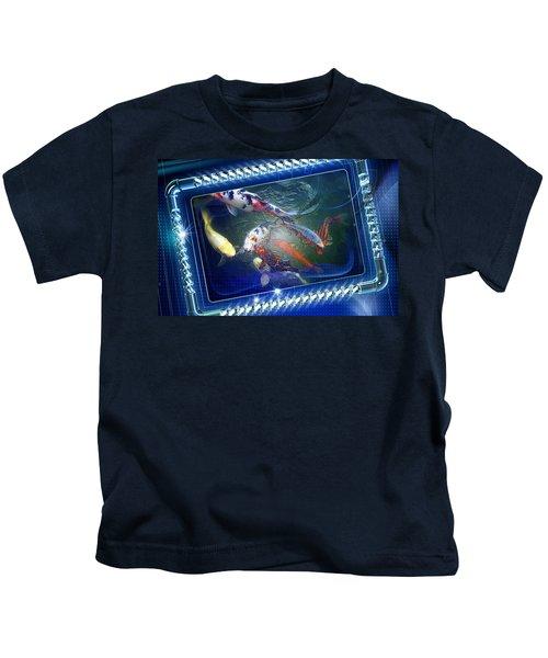 Framed Coy  Kids T-Shirt