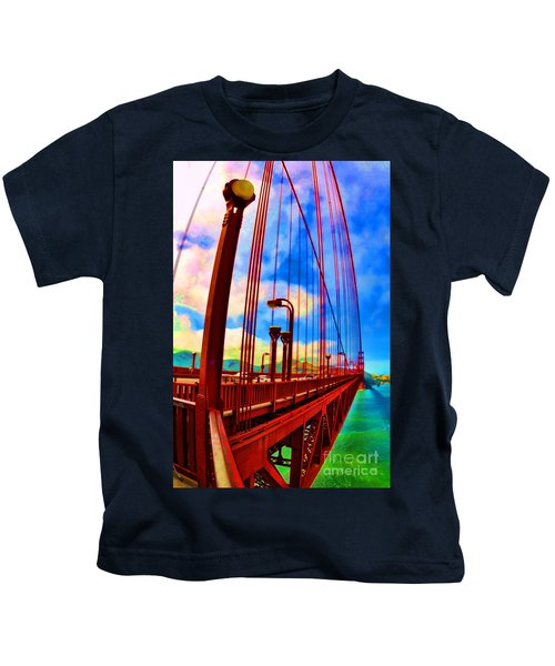 Golden Gate Bridge - 8 Kids T-Shirt