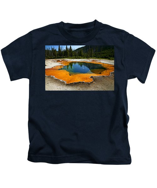 Hot Springs Yellowstone Kids T-Shirt