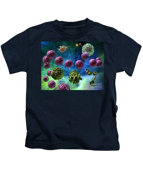 Immune Response Cytotoxic 1 Kids T-Shirt