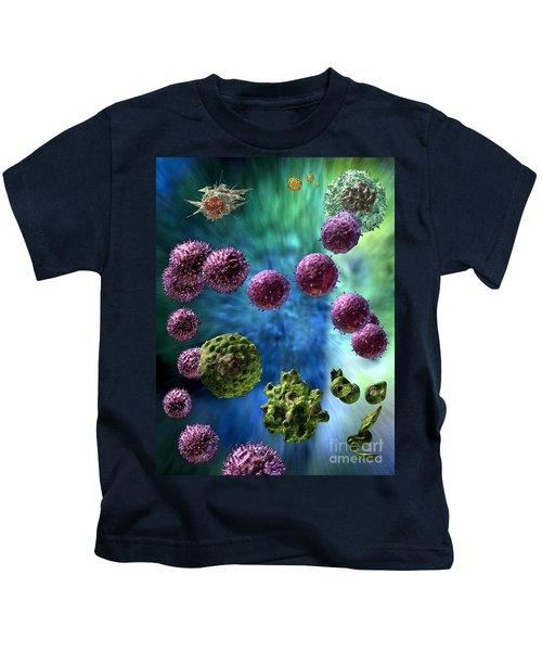 Immune Response Cytotoxic 3 Kids T-Shirt