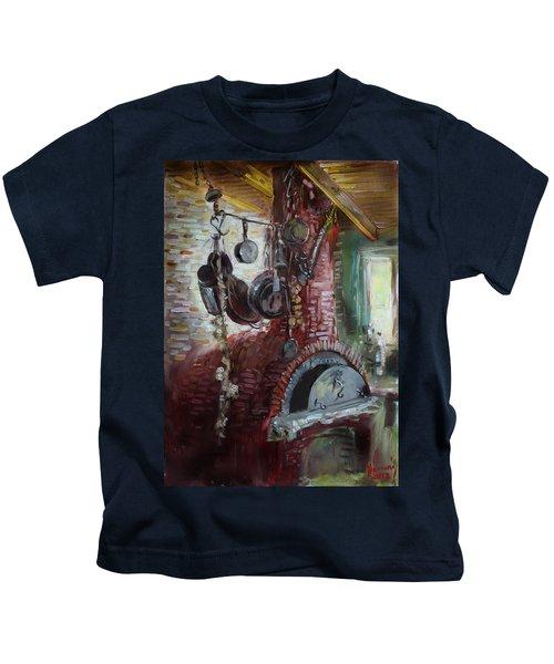Greek Furno  Kids T-Shirt