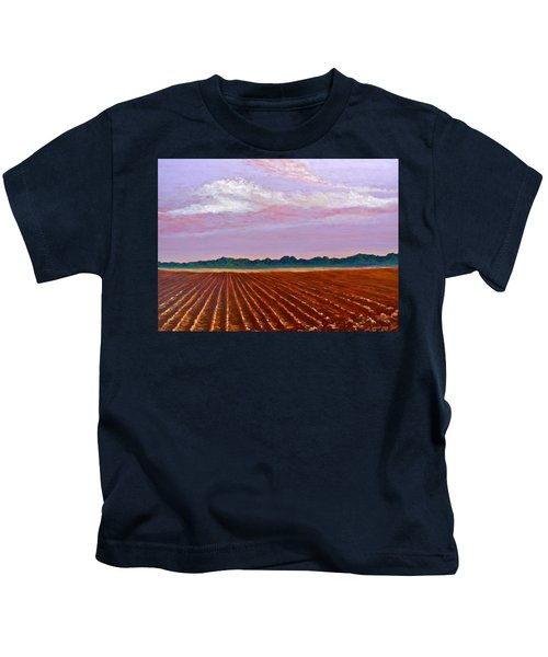 Mississippi Land And Sky Kids T-Shirt