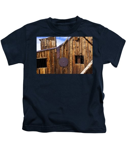 Old Building Bodie Ghost Town Kids T-Shirt