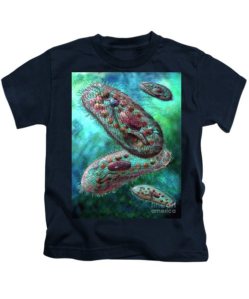 Paramecium Kids T-Shirt